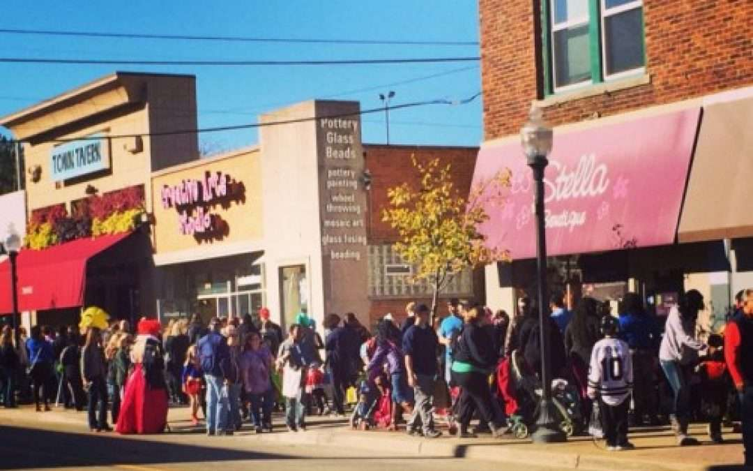Royal Oak Voted #2 Trick or Treating Town!